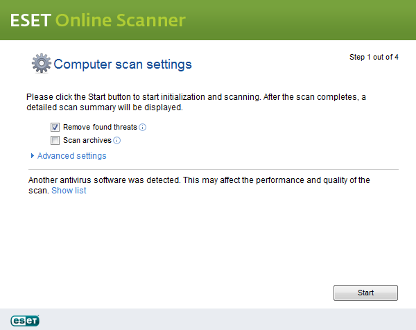 scan and clean my computer online free