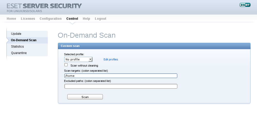 ESET Endpoint Security for OS X - Setup